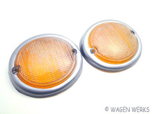 Turn Signal Lens - Type 2 1962 to 1967 - Pair