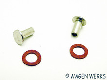 Vent Wing Pivot Rivet Kit - Type 2 1968 to 1979 - set