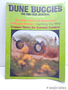 Hot VWs Magazine - 1969 November Dune Buggies