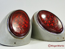 Tail Light Set - Bug 1956 to 1961 - Hella