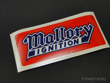 Vintage Gasser Sticker - Mallory Ignition 1970s