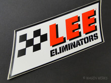Vintage Gasser Sticker - LEE Eliminators 1970s - Empi