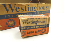 Westinghouse Auto Headlight Bulbs - Vintage 1920s-30s 6 pack!