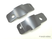 Bumper Splash Pan Brackets - Rear Type 2 1959 to 1967