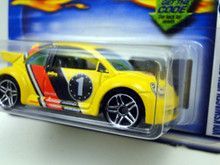 Hot Wheels - Volkswagen New Beetle Cup - 2001 2002 1st ed.