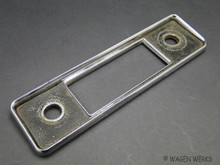 Radio Face Plate - Sapphire Type 2 & Karmann Ghia 1967 only