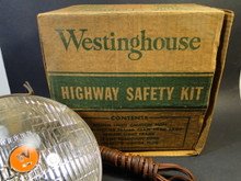 Westinghouse Highway Safty Light - Vintage 1950s - Used
