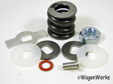 Vent Wing Frame Hardware Kit - Type 2 1953 to 1967