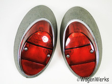 Tail Light - Bug 1962 to 1967 - Red Lenses
