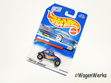 Hot Wheels - Baja Bug 1998 -#835 Blue w/Hot Wheels Flames