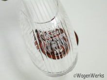 Turn Signal Lens - Bug 1958 to 1963 - Clear  Tops!
