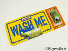 "Matchbox- VW Concept 1/New Beetle Green Metallic ""Wash Me"" New + Book"