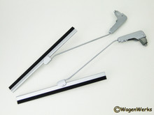 Wiper Arms/Blades With Bases - Bug 1953 to 1957