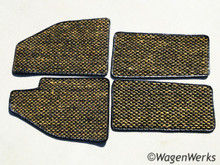 Coco Mats - Bug 1958 to 1959 Yellow/ Black