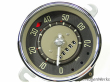 Speedometer - Type 2 Bus 1955 to 1960 9-59 -Rebuilt
