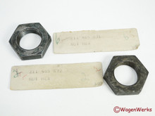 Wheel Bearing Hex Nut - Type 2  1955 to 1962 - NOS