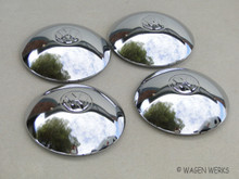 Hub Cap Set - Wide Five Karmann Ghia to 1965