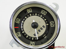 Speedometer - Type 2 1964 to 1967 6-67 -Rebuilt Euro KM