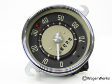 Speedometer - Type 2 Bus 1955 to 1960 12-59 -Rebuilt