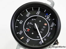 Speedometer - 1972 to 1975 Bug  KM /Euro Standard