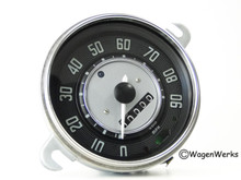 Speedometer - 1961 to 1962 Bug & Karmann Ghia 3-62 - No Shift Points