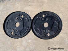 Brake Backing Plates - Front  Bus 1955 to 1962 used pair - Set 2
