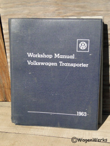 Workshop Manual - Volkswagen Transporter Type 2 1963