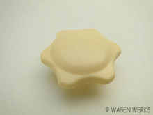 Heater Knob - Bug 1953 to 1964 - Ivory
