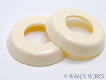 Door Handle Escutcheon - Inner 1956 to 1967 - Ivory