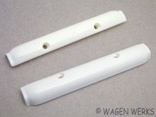 Pop Out Window Hinge Covers - Bug to 1977 - off White