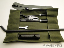 Tool Roll Kit - Bug Type 2 Ghia - Green