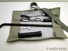 Tool Roll Kit - Bug Type 2 Ghia Thing  - Grey