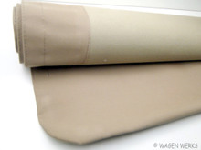Cloth Ragtop Sunroof Cover - Bug 1957 to 1963 Tan Canvas
