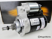 Starter - 12 volt Manual Transmission - Bosch new