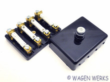 Fuse Box - 4 Fuses Karmann Ghia 1956 to 1960 - German