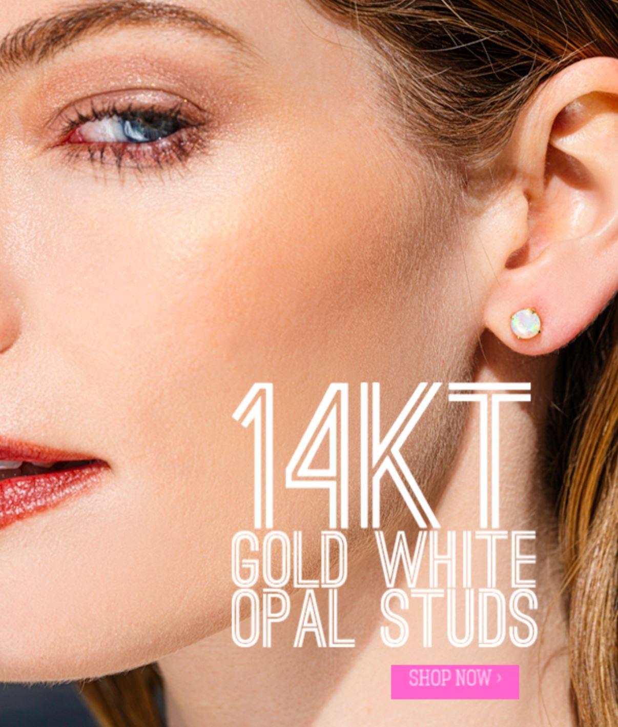 gold opal rings