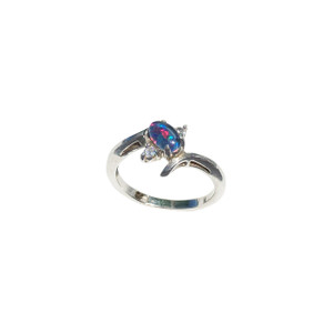 EASY TO LOVE MORE STERLING SILVER OPAL RING