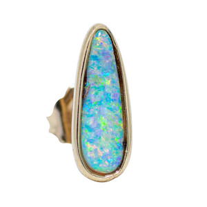 OPAL DELIGHT SINGLE STUD IN 18kt GOLD