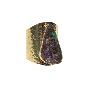 FOREST DREAM SURPRISE OPAL RING