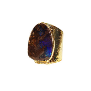 MIDNIGHT DESTINY OPAL RING