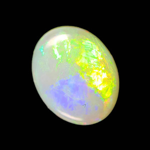 CONFETTI LIGHTNING NATURAL SOLID AUSTRALIAN COOBER PEDY WHITE OPAL LOOSE STONE