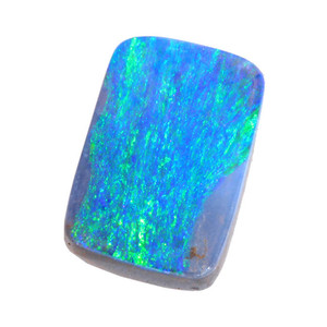 ELECTRIC SEA  NATURAL SOLID AUSTRALIAN BOULDER OPAL LOOSE STONE
