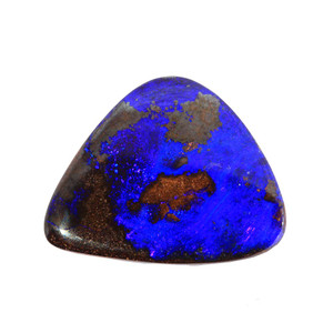 ROYAL BLUE  MYSTERY  NATURAL SOLID AUSTRALIAN BOULDER OPAL LOOSE STONE
