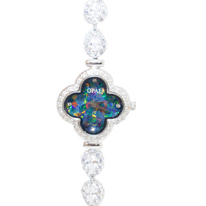 LUCKY LADY GENUINE AUSTRALIAN FINE OPAL WATCH