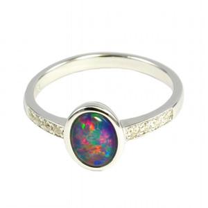 Australian Opal Ring