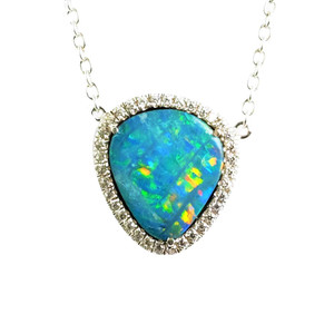 Opal Necklace