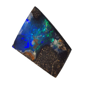SKY HIGH NATURAL SOLID AUSTRALIAN BOULDER OPAL LOOSE STONE
