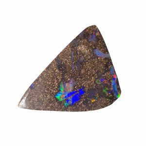 EASY RUN NATURAL SOLID AUSTRALIAN BOULDER OPAL LOOSE STONE