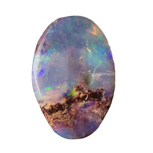 EASY SUNRISE SURPRISE NATURAL SOLID AUSTRALIAN BOULDER OPAL LOOSE STONE