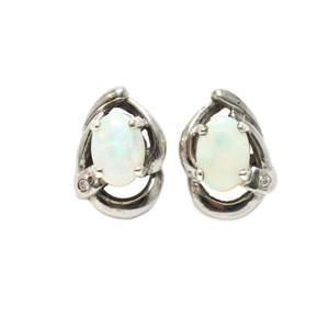 opal earrings